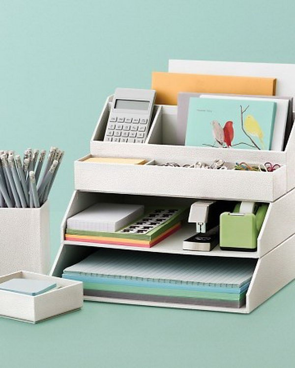 Home office organizing 20 of my favorite tips mom - Desk organization accessories ...