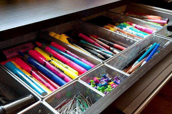Office Drawer Organizer